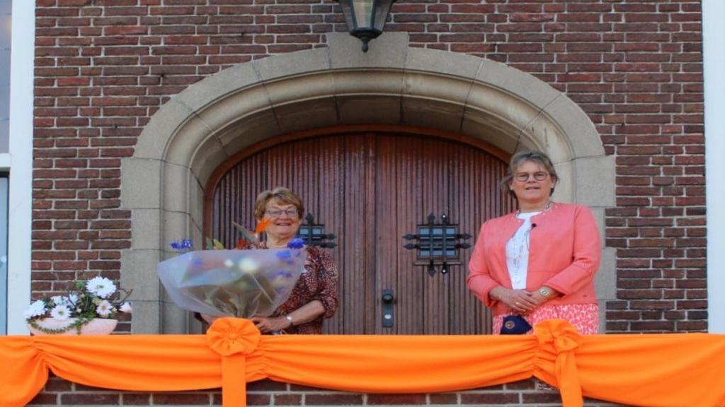 Drie inwoners van Woudenberg kregen een Koninklijke Onderscheiding