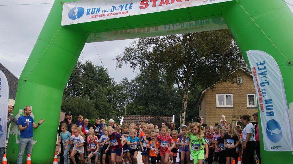 Ruim 250 deelnemers bij negende editie Run for Joyce