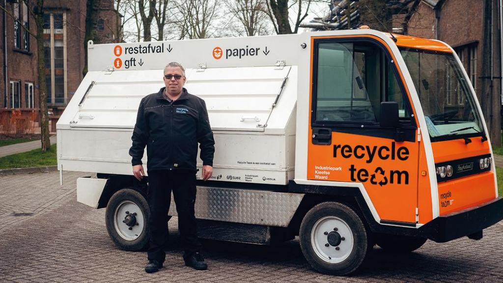 Afvalambassadeurs helpen Kleefse Waard duurzaamste bedrijventerrein te worden