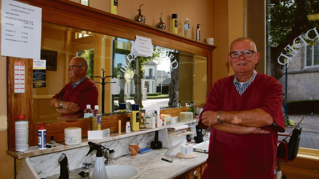 Henk (69) sluit zijn kapsalon vanwege corona: 'Ik kan niet omgaan met die regeltjes'