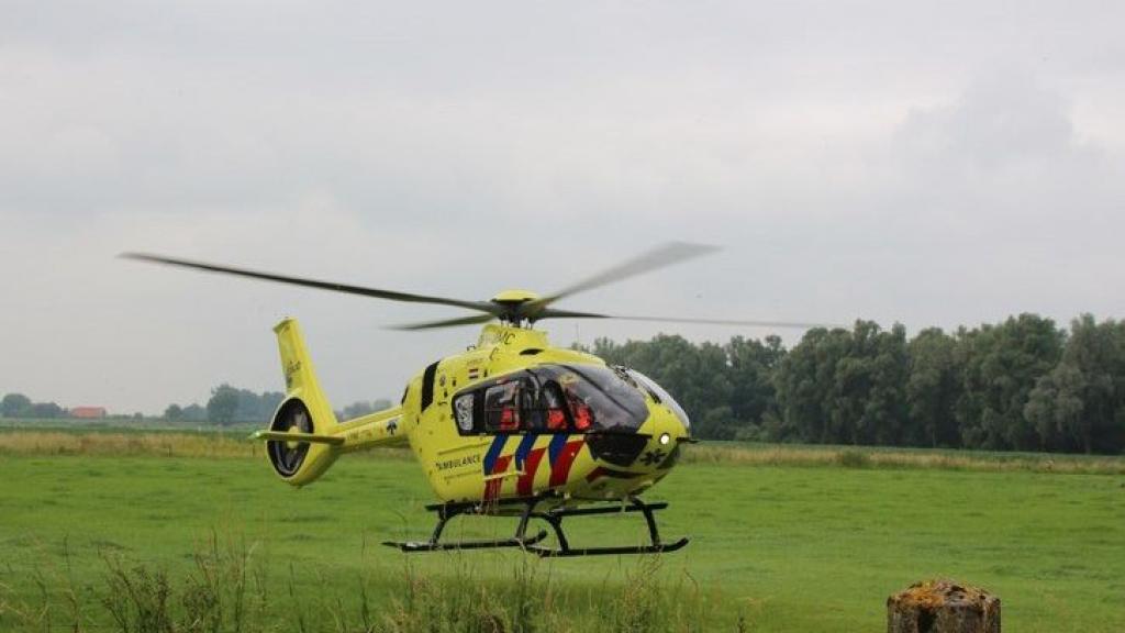 Traumahelikopter verleent assistentie in Ooij en Groesbeek