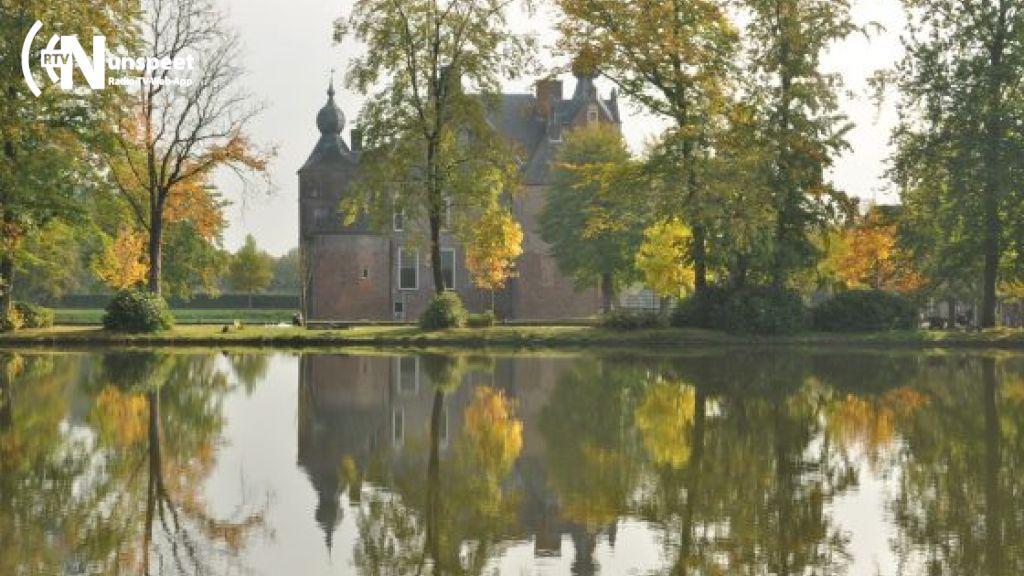 Luiden van de noodklok heeft gewerkt voor kasteelpark Cannenburch