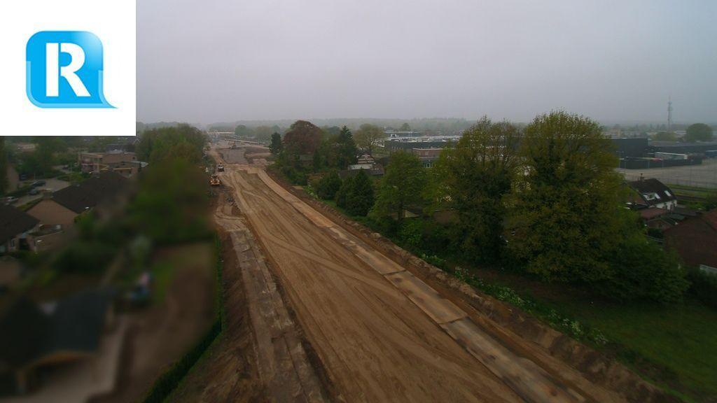 Een nieuwe N348: 7500 ton nieuw asfalt en 4000 straatstenen