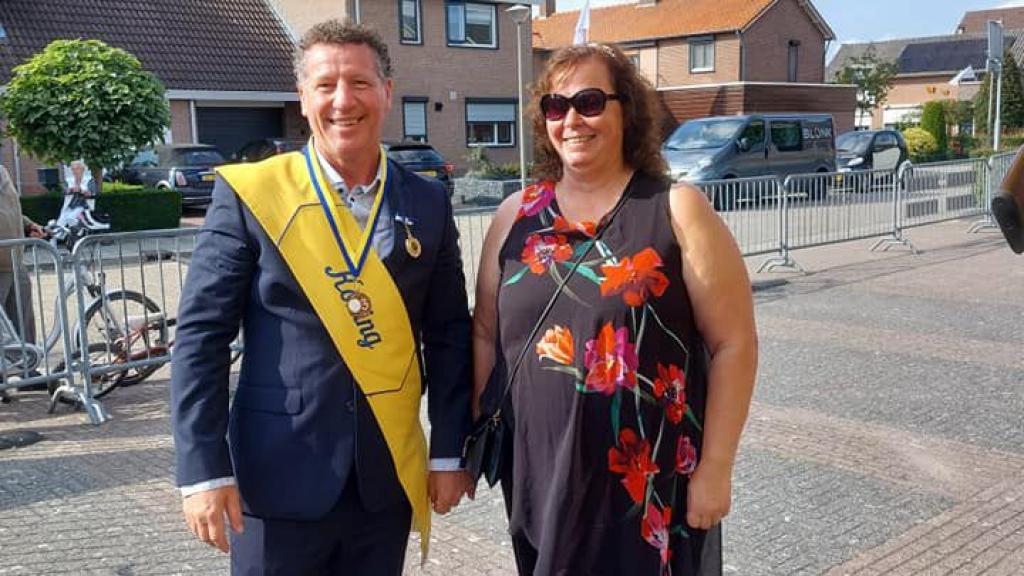 Wilfried van Eck nog een jaar Koning in Leuth