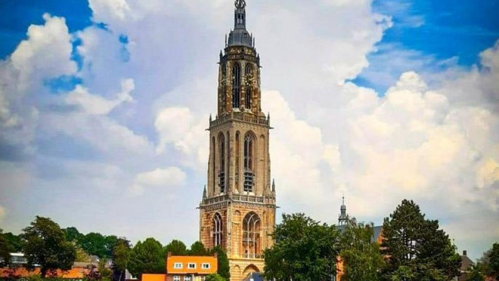 Toren van de Cunerakerk in Rhenen Foto: Faceboek