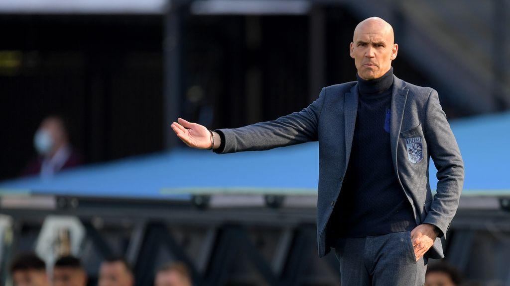 Thomas Letsch vond dat Vitesse een verlenging verdiende