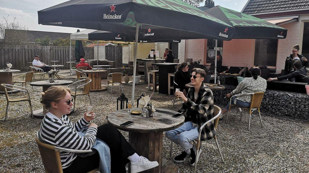 Ook in Berg en Dal zijn weer vele terrassen open