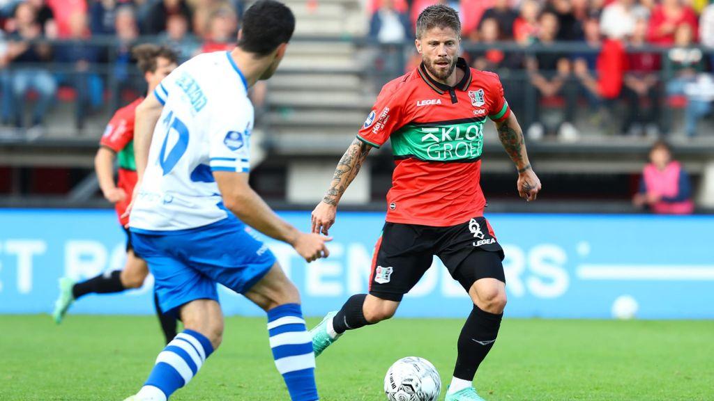 Effectief NEC zet PEC Zwolle in eerste helft opzij