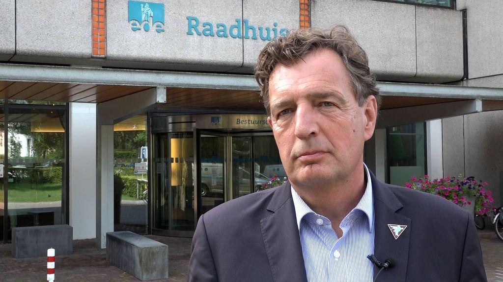 Burgemeester René Verhulst. Foto: Omroep Gelderland