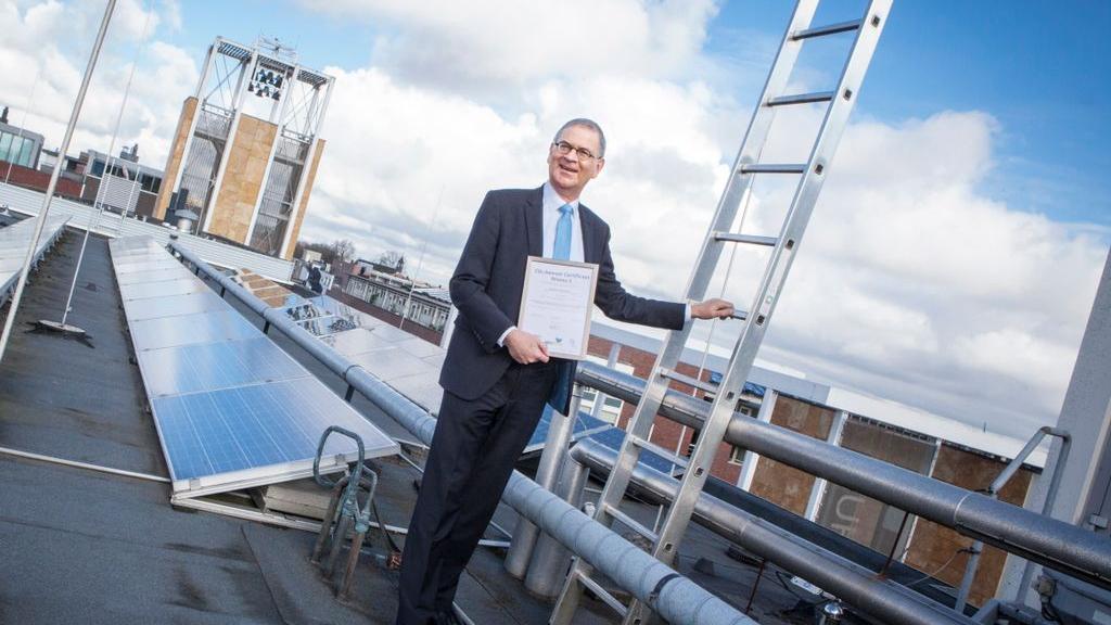 Gemeente Veenendaal behaalt certificaat CO2-prestatieladder