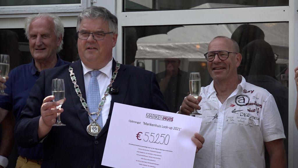 Opgesloten ondernemers bellen ruim 50.000 euro bij elkaar voor Marikenhuis