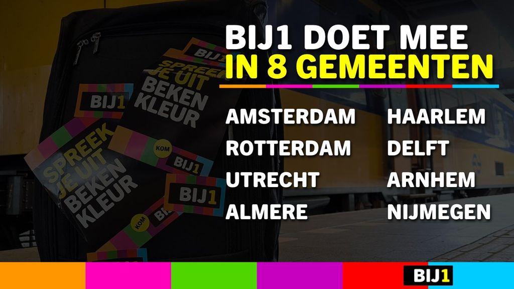 BIJ1 doet mee aan verkiezingen in Arnhem en Nijmegen
