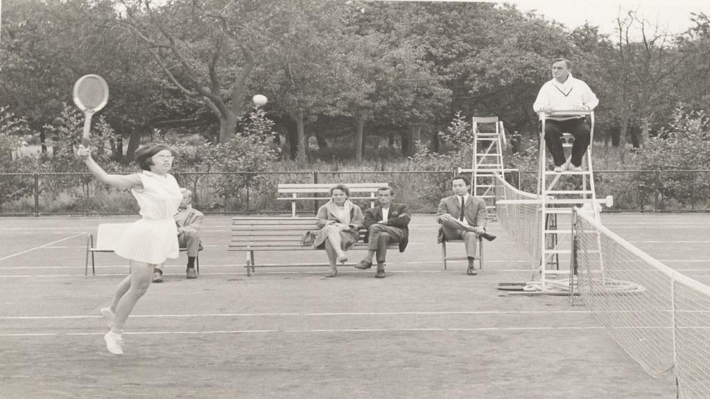 Wageningse tennisclub NVLTB bestaat 100 jaar
