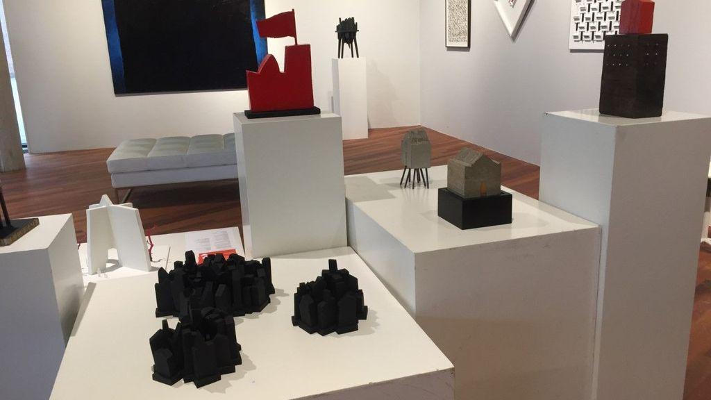Expositie 'Strongholds' van Dolf Dijkstra in Galerie Cultura