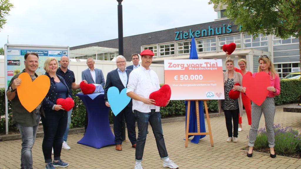 50.000 euro voor actie Zorg voor Tiel