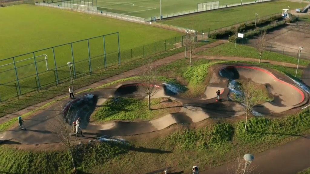 Pumptrack in Rheden opent eind mei