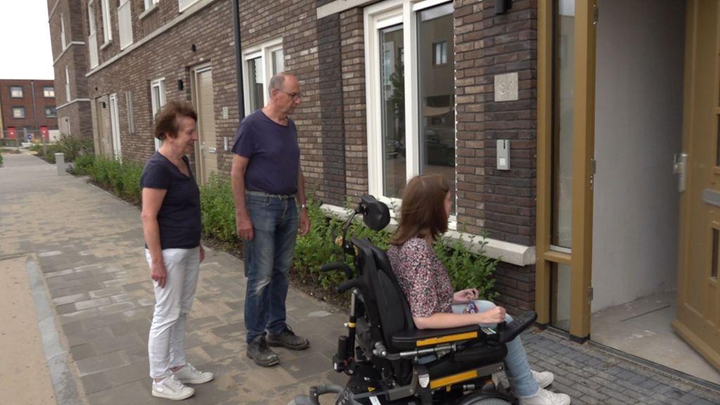Bewoners met beperking regelen zelf zorg bij nieuwe appartementen in Nijmegen