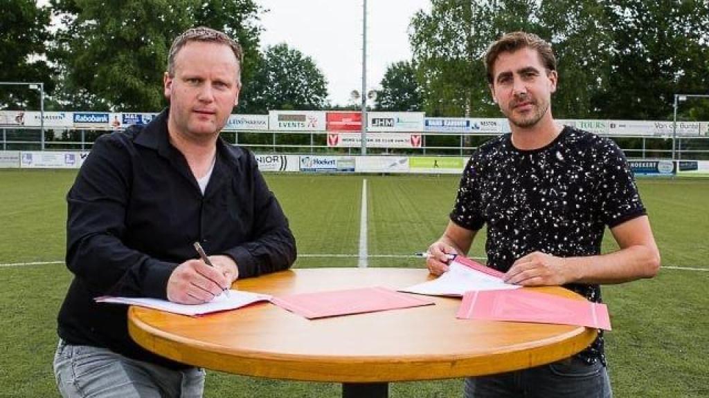 William van den Hul blijft hoofdtrainer bij VV Hulshorst
