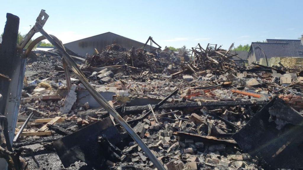 'Alles was zwart', oorzaak brand bij zwembadenwinkel Oldebroek niet meer te achterhalen