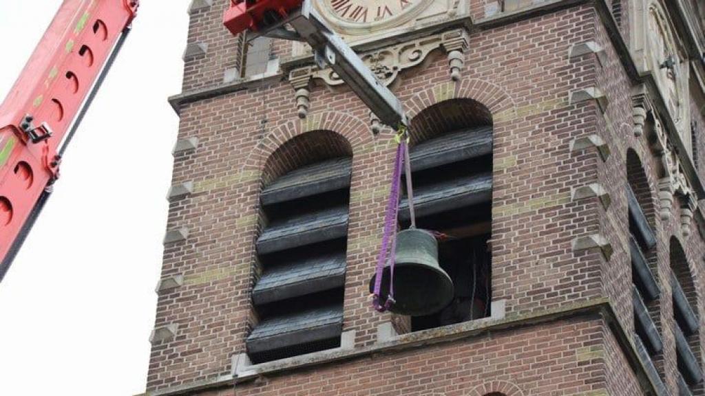 Historische klok weg uit Beekse kerktoren