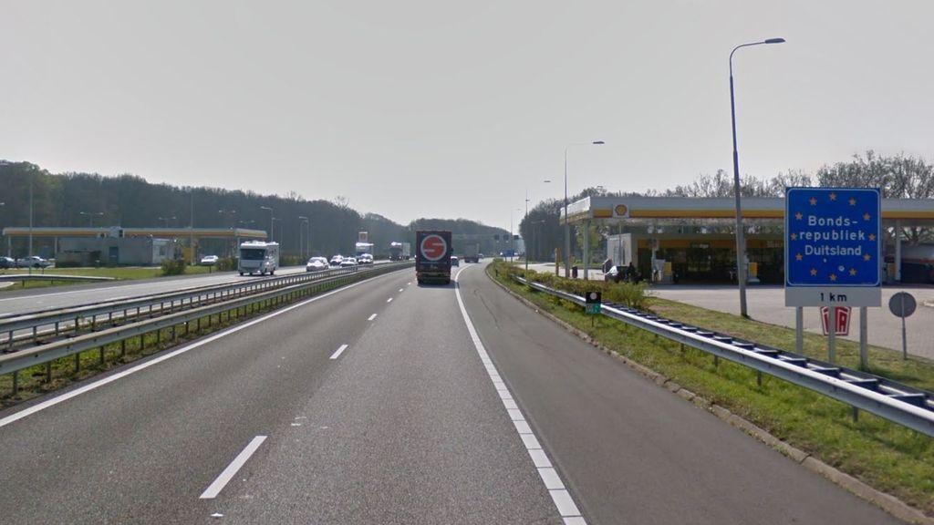 De grensovergang bij Beek. Foto: Google Street View