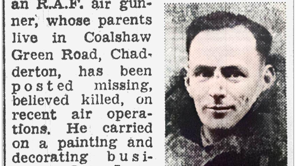 Zesde 'gezicht' van bemanning neergestorte Lancaster gevonden