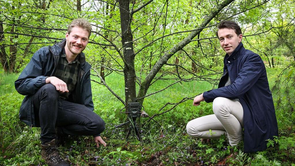 Wildcameraproject 'zoogdieren in de achtertuin' van start