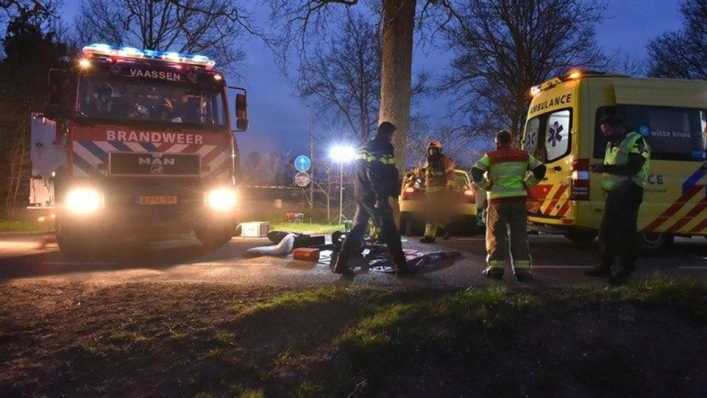 Man (20) overlijdt na ernstig ongeluk in Vaassen