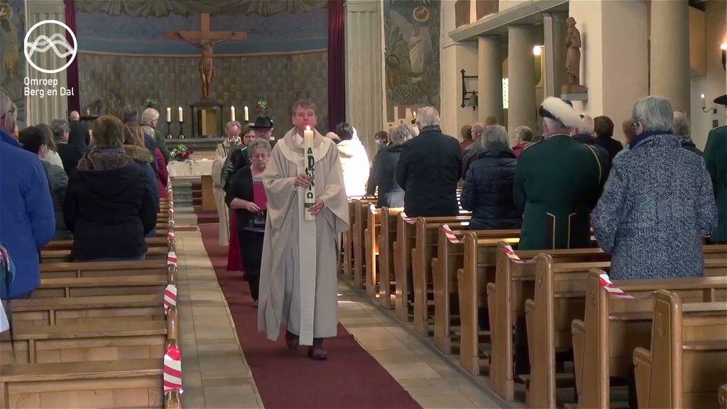 Laatste Heilige Mis in Heilig Hart kerk de Horst