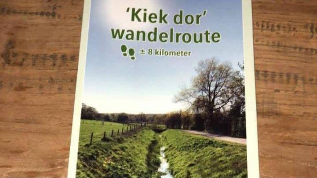"""""""Kiek dor"""" wandelroute ter herinnering aan Henk Eikholt"""
